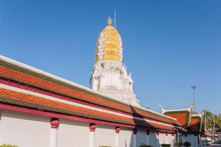 thaiart: Phitsanulok, Thailand - January 03, 2016: Ancient Pagoda Statue Inside Wat Phrasimahathat Phitsanulok Province Thailand.