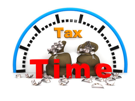 updating: Tax Time Concept