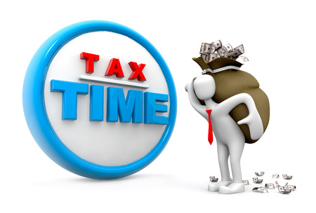 Tax Time Concept photo