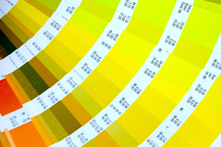 Color palette, Sample color catalog, Rainbow background 版權商用圖片