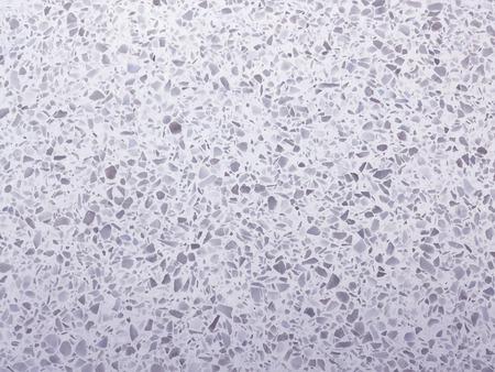 Terrazzo floor background, white stone background, Terrazzo interior texture background Banque d'images - 122393918