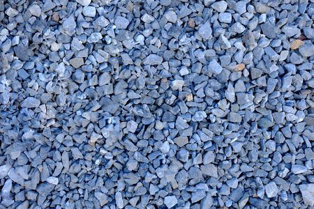 Gray stone for making road, Small stone texture background, Stone for sprinkling the garden path Banque d'images - 122394021