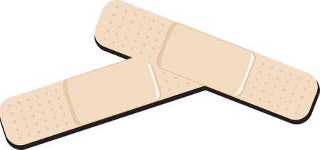Medical adhesive Stock Vector - 8689837
