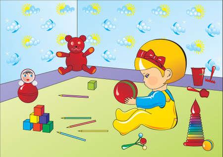 nenes jugando: juego infantil