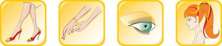 fascia: Beauty icon