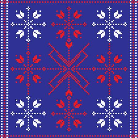 Folk pattern Stock Vector - 9672730