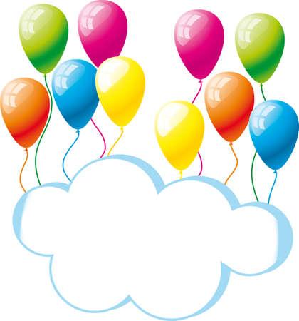congratulation, a birthday Stock Vector - 12483210