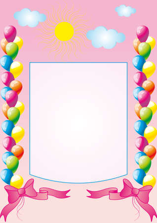 congratulation, a birthday Stock Vector - 12483217