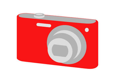 a digital camera (point and shoot)