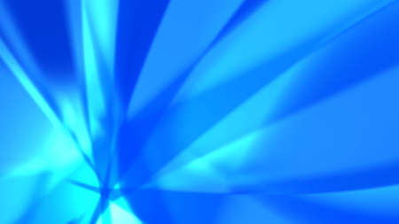 Blue abstract background - sharp-cornered luminous shapes. Resolution of multiple HD.