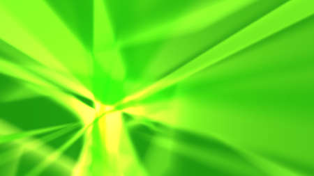 Green abstract background - sharp-cornered luminous shapes. Resolution of multiple HD.