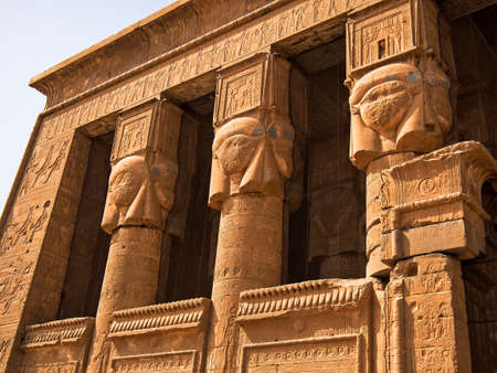 Portal of the Temple of Hathor at Dandara (Dendera), Egypt