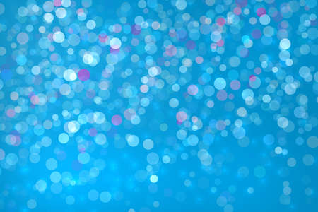 Abstract bokeh background blue colour