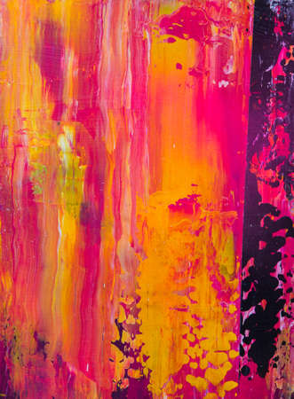 Beautiful colorful abstract stylized textured background, paint strokes, spots and blotches stains, card wallpaper with copy space photo