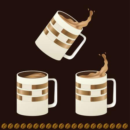 cruddy: Splash coffee mugs,  best of use your business and brand identity.