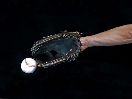 Image of Catching ball Stock Photo
