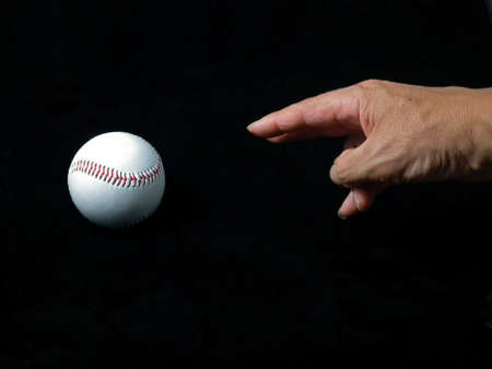Image of throwing a ball Stock Photo