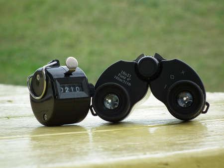 binocular and counter