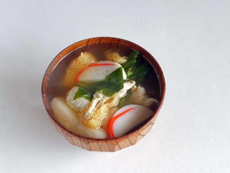 Zoni(Japanese new years dish including rice cake)