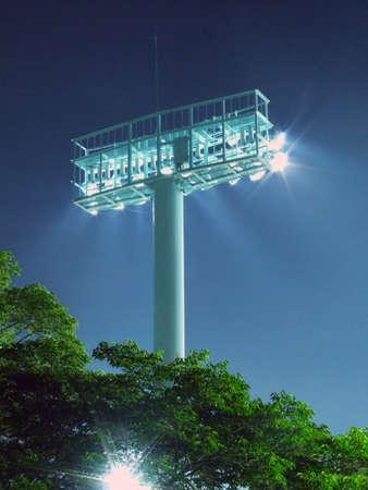 Light in a ballpark