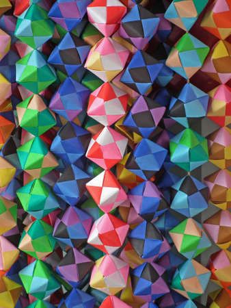 cube of paper crafts (Origami)