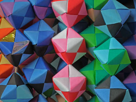 colorful cube Stock Photo