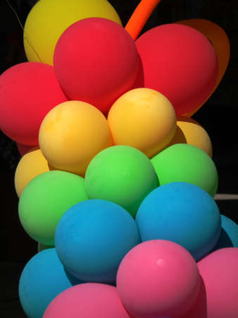 rubber balloon Stock Photo