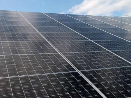太陽電池パネル 写真素材 - 13019918