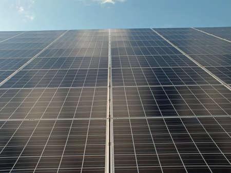 太陽電池パネル 写真素材 - 13019920