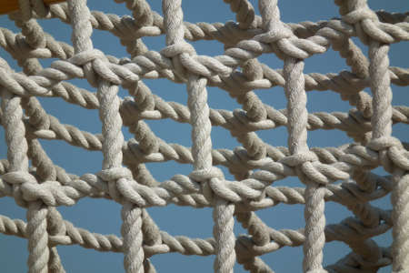 rope of playground Stock Photo