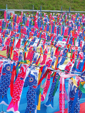 Koinobori  carp streamer for celebrating childrens  day in Japan