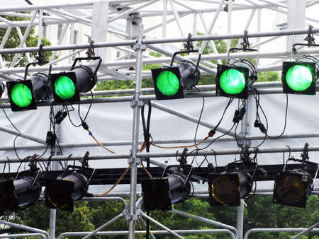 stage lighting Stock Photo - 15366600