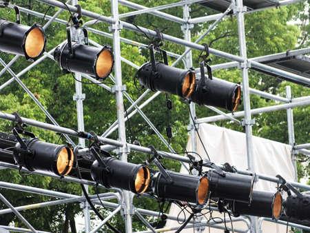 lighting technician: stage lighting