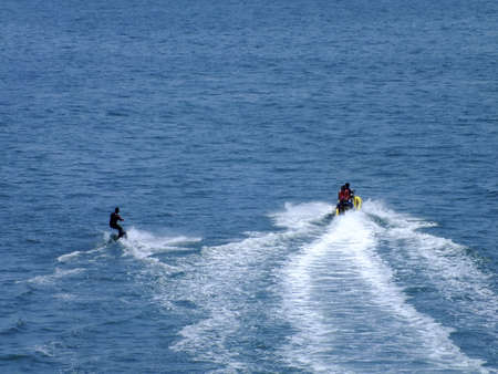 water skiing: Water skiing