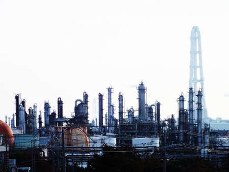 工業地域 写真素材