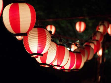 Het Festival van de lantaarns Stockfoto
