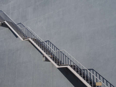 long: Long stairs Stock Photo