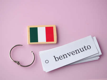 Welcome Italy to Stock Photo