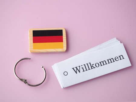 Welcome Germany language