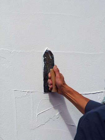 stucco: Stucco Stock Photo