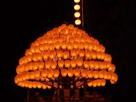 Lantern Festival in Japan Stock Photo