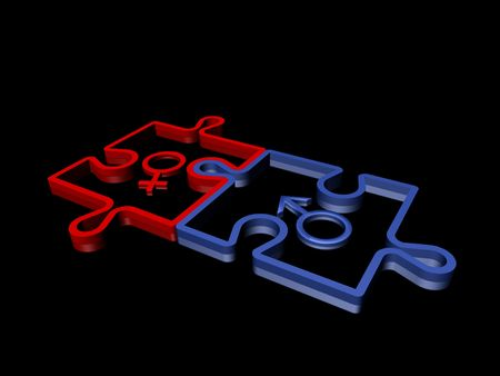 copulate: puzzle on a black background
