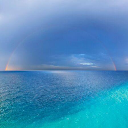 seasides: rainbow Stock Photo