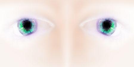 spacial: eye Stock Photo