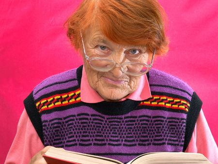 In a photo it is shown as the grandmother reads the book