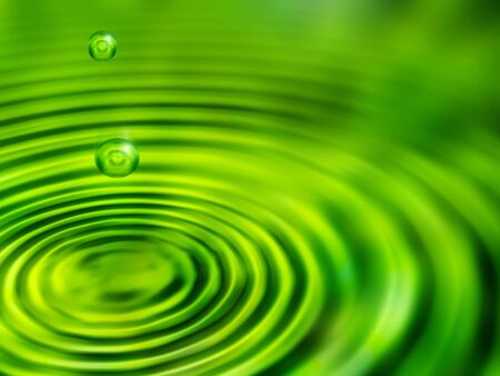green drops Stock Photo - 883202