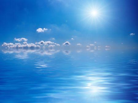 sky and sun Stock Photo - 883211