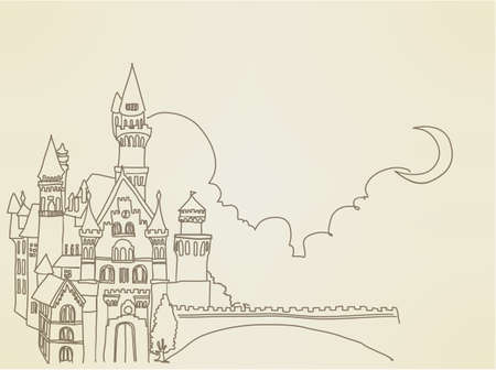 princess castle: Vintage Castle