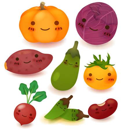 cabbage: Groenten en fruit Collectie