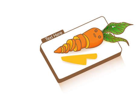 chop: Chop Chop Carrot Illustration